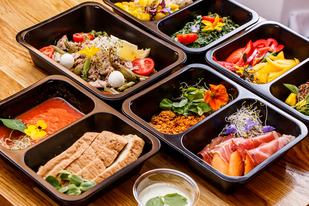 Take-out food containers